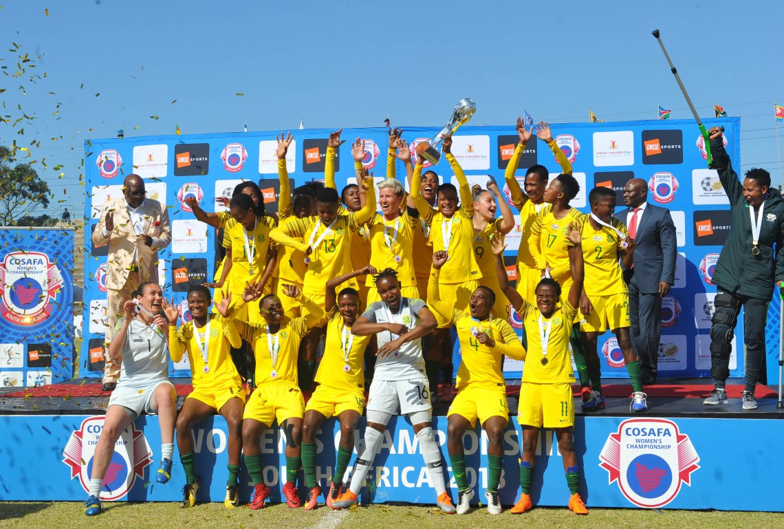 Football - 2018 Cosafa Womens Championship - Final - Cameroon v South Africa - Wolfson Stadium - Port Elizabeth