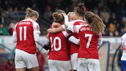 Reading Women vs Arsenal Women - FA Women's Super League