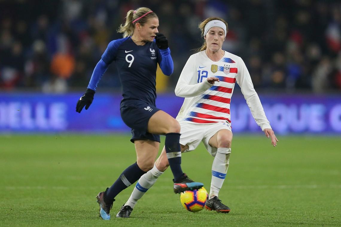Futbol Femenino - Estados Unidos vs Francia