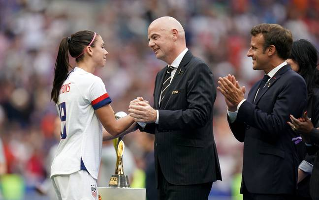 USA v Netherlands - FIFA Women's World Cup 2019 - Final - Stade de Lyon